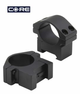 Кільця AR-3004WL 30мм. низькі, алюміній.