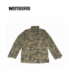 Куртка Westrooper M65 Military Jacket Woodland Digital
